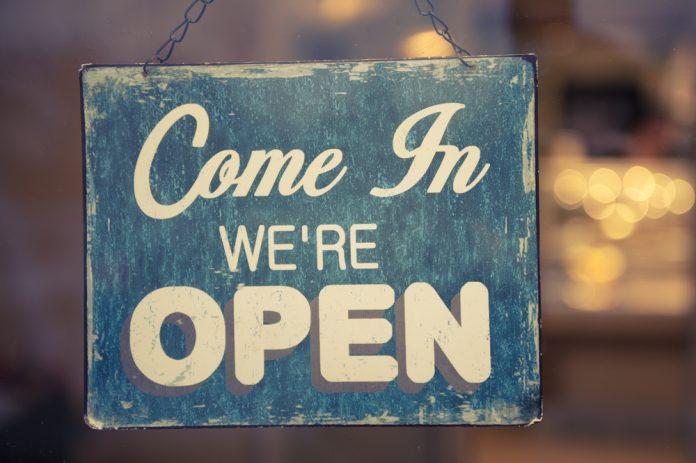 Nieuwe shop open