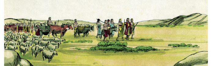 Jakob verwerft zijn kudde