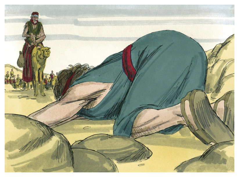 Genesis 33 - de onrechtvaardige mammon